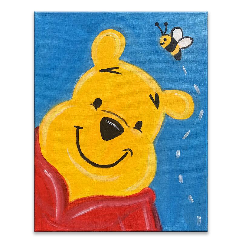 Honey Bear Virtual Painting Class