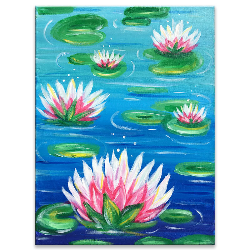 Water Lilies Painting Event