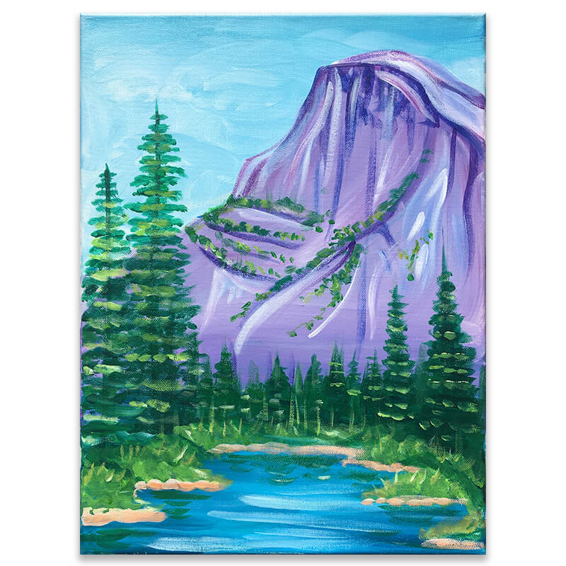 Yosemite National Park Painting Class